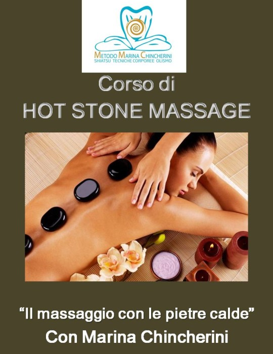 CORSO DI HOT STONE MASSAGE. METODO MC