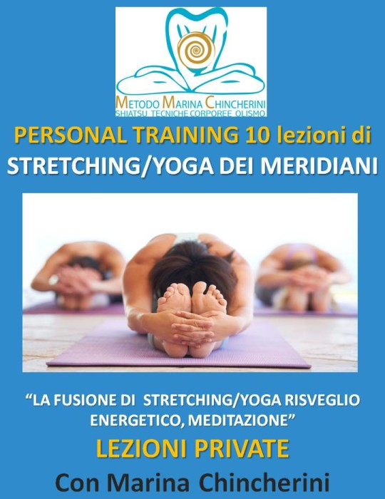 PERSONAL TRAINING DI STRETCHING/YOGA DEI MERIDIANI MMC