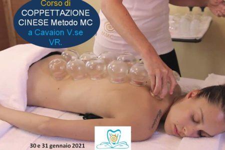 CORSO DI COPPETTAZIONE CINESE, CAVAION V.SE VR, GENNAIO 2021. MMC