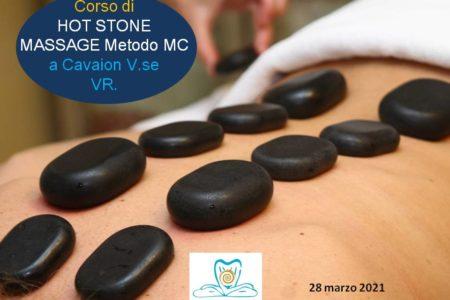 CORSO DI HOT STONE MASSAGE & THERAPY, CAVAION V.SE, VR, MARZO 2021