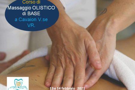 CORSO DI MASSAGGIO OLISTICO PRINCIPIANTI, FEBBRAIO 2021, CAVAION VR. METODO MC