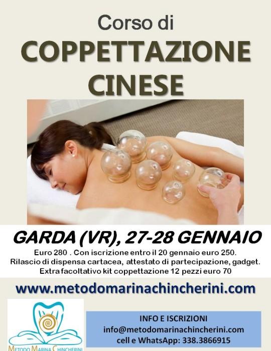 CORSO DI COPPETTAZIONE CINESE, GENNAIO METODO MC