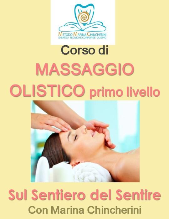 CORSO DI MASSAGGIO OLISTICO DI PRIMO LIVELLO. METODO MC
