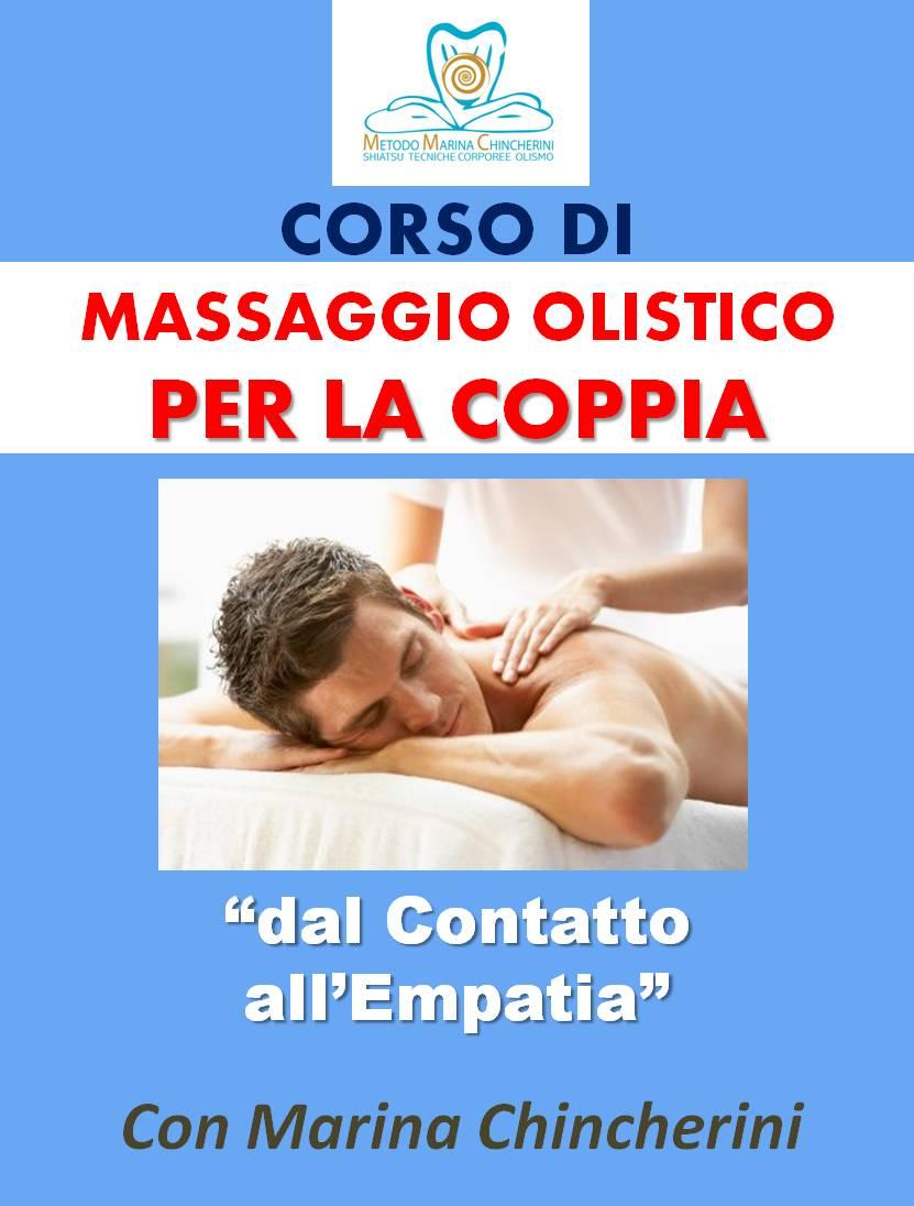 CORSO DI MASSAGGIO PER COPPIA POSTER