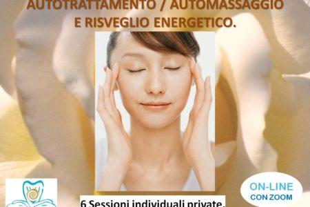 ON-LINE. 6 SESSIONI DI AUTOMASSAGGIO E RISVEGLIO ENERGETICO. METODO MC.