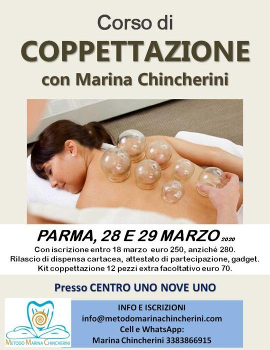 CORSO DI COPPETTAZIONE CINESE, PARMA, METODO MC A MARZO!