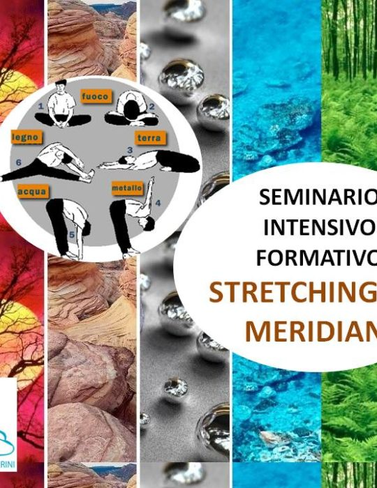 SEMINARIO INTENSIVO FORMATIVO IN STRETCHING DEI MERIDIANI. GARDA VR, OTTOBRE 2020, METODO MC.